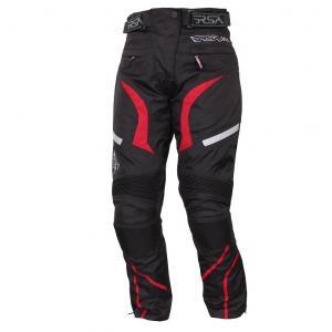 Moto nohavice RSA Devil - dámske červené