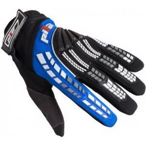 MX rukavice na motocykel Pilot čierno-modré