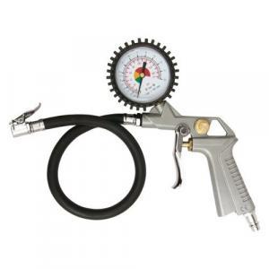 Pištoľ na hustenie pneumatík s manometrom 2,8 - 10 bar