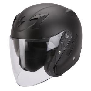 Prilba na motocykel Scorpion EXO-220 čierna matná
