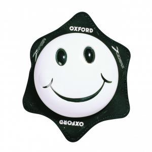 Univerzálne kolenné slidery Oxford Smiler biele