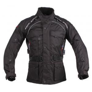 Bunda na motocykel Roleff Liverpool čierna