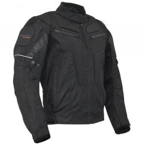 Bunda na motorku Roleff Riga čierna
