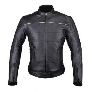 Bunda na motocykel Tschul 837 čierna