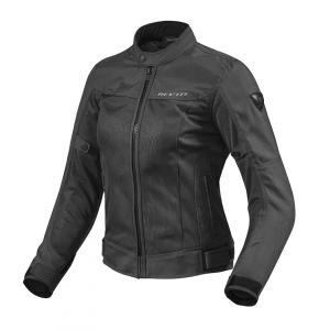 Dámska bunda na motocykel Revit Eclipse čierna