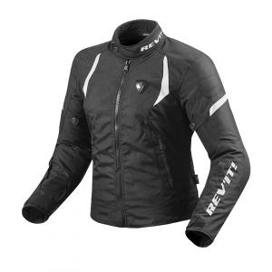 Dámska bunda na motocykel Revit Jupiter 2 čierno-biela výpredaj