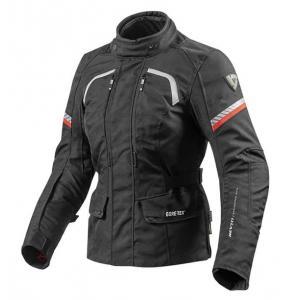 Dámska bunda na motorku Revit Neptune GTX čierna výpredaj
