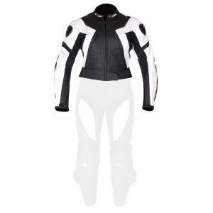Dámska bunda Tschul 736 čierno-biela