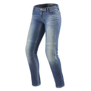 Dámske jeansy na motocykel Revit Westwood SF modré výpredaj