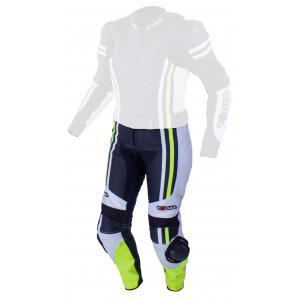 Dámske nohavice Tschul 556 čierno-bielo-fluorescenčno-žlté výpredaj