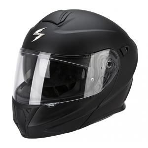 Moto prilba odklápacia Scorpion EXO-920 čierna matná