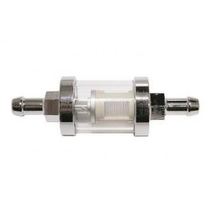 Palivový filter chrómový 8 mm