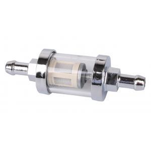 Palivový filter R-TECH chrómový 8 mm