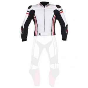 Pánska bunda Tschul 555 bielo-čierno-červená