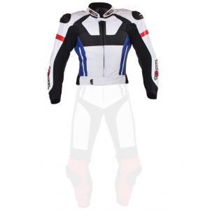 Pánska bunda Tschul 580 bielo-červeno-modro-čierna
