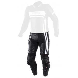 Pánske nohavice na motocykel RSA Virus čierno-biele