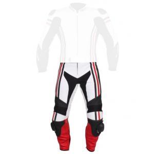 Pánske nohavice Tschul 555 bielo-čierno-červené