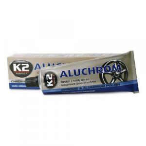 Pasta na čistenie a leštenie kovových povrchov K2 aluchrom 120 g