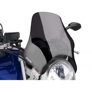 Plexi na motorku PUIG NAKED 0869F tmavá dymová univerzálne