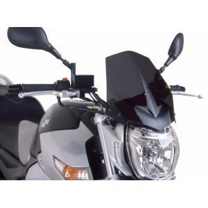 Plexi na motorku PUIG NEW. GEN SPORT 4117F tmavá dymová