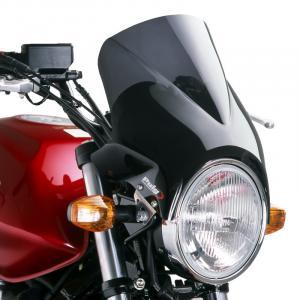 Plexi na motorku PUIG WINDY 1482F tmavá dymová univerzálne