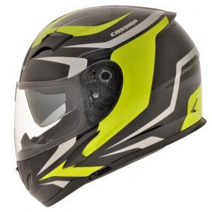 Prilba na motocykel Cassida Integral 2.0 čierno-šedo-fluoroscenčno-žltá