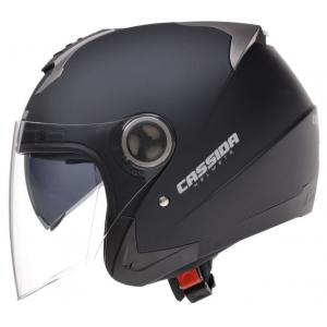 Prilba na motocykel Cassida Magnum - čierna matná