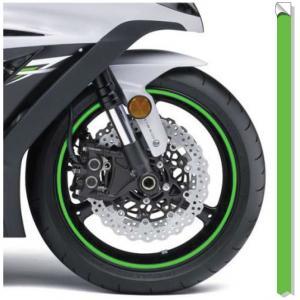 Reflexná páska na disky Print fluorescenčno-zelená