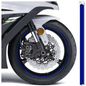 Reflexná páska na disky Print modrá