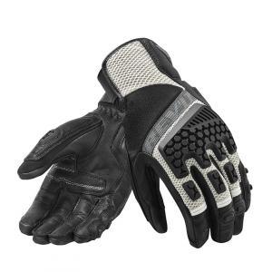 Rukavice na motocykel Revit Sand 3 čierno-strieborné výpredaj