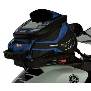 Tankbag na motocykel Oxford Q4R QR-modrý