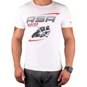 Tričko RSA Riders biele