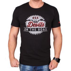 Tričko RSA Road čierne