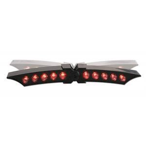 Univerzálne LED zadné svetlo Shin-Yo X-Wing čierne