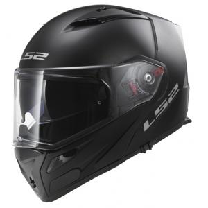 Odklápacia prilba na motocykel LS2 FF324 Metro čierna matná