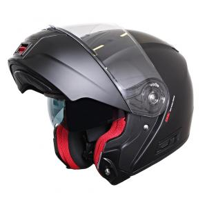 Odklápacia prilba na motocykel RSA TR-01 čierna matná