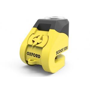 Zámok kotúčovej brzdy Oxford Scoot XD5 - žlto/čierny