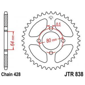Reťazová rozeta JT JTR 838-35 35 zubov,428