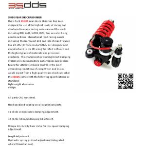 Zadný centrálny  tlmič K-TECH DDS 245-012-150/015 LITE