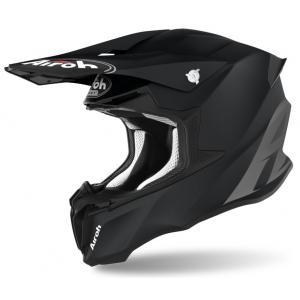 Motokrosová prilba Airoh Twist Color čierna matná