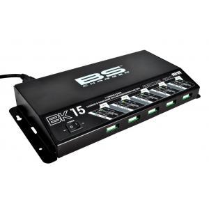 Profesionálna  nabíjačka  pre 5 batérií BS-BATTERY 5 Bank charger BK15 12V 5x1.5A