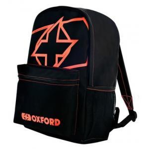 Batoh Oxford X-Rider čierno-fluorescenčno červený