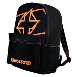 Batoh Oxford X-Rider čierno-fluorescenčno oranžový