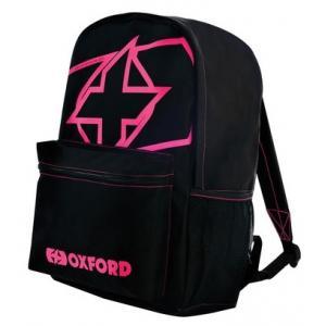 Batoh Oxford X-Rider čierno-ružový