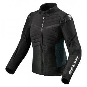 Dámska bunda na motocykel Revit Arc H2O čierna výpredaj