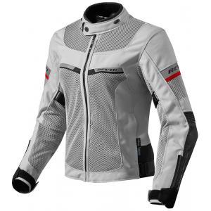 Dámska bunda na motocykel Revit Tornado 2 strieborno-čierna výpredaj