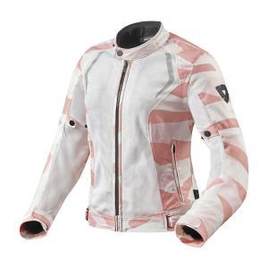 Dámska bunda na motocykel Revit Torque maskáčová-ružová výpredaj