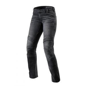Dámske jeansy na motocykel Revit Moto TF čierne výpredaj