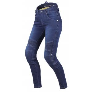 Dámske jeansy na motocykel Street Racer Spike II CE modré