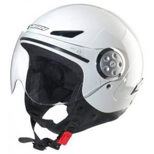 Detská prilba na motocykel otvorená NOX N216 biela - II. akosť